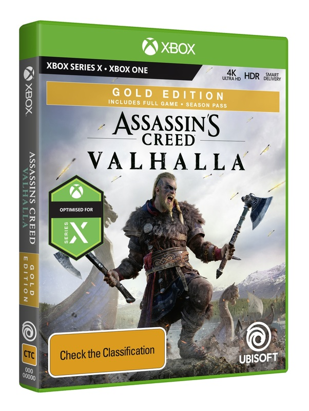 Assassin S Creed Valhalla Gold Steelbook Edition Xbox One Pre Order Now At Mighty Ape Australia
