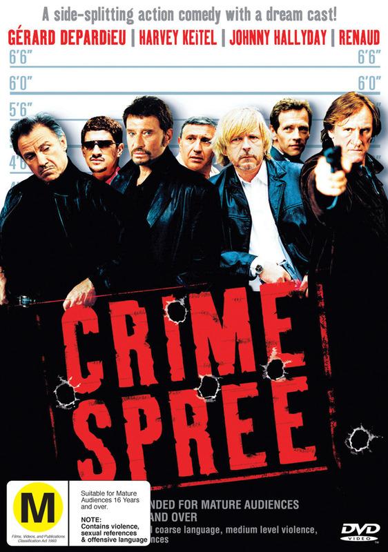 Crime Spree on DVD