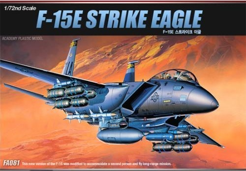 Academy F-15E Strike Eagle 1/72 Model Kit