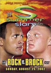 WWE- Summerslam 2002 on DVD