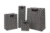 Spotty Black Bag - Large