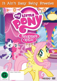 My Little Pony: Friendship is Magic: It Ain't Easy Being Breezies Season 4 Collection 3 DVD