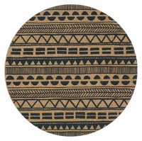 Cork Placemats - Tribal (Set Of 4)