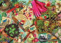 Holdson: 1000pce Puzzle - Treats 'n Treasures Vintage Garden