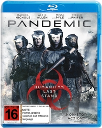 Pandemic on Blu-ray