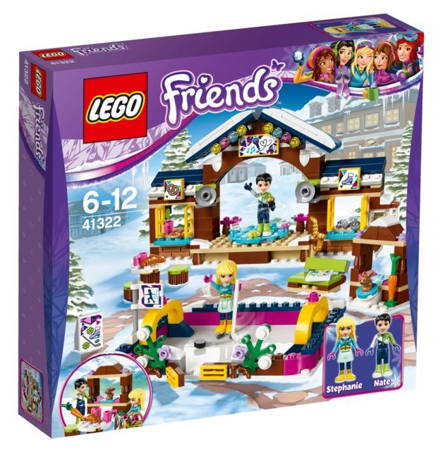 LEGO Friends: Snow Resort Ice Rink (41322)