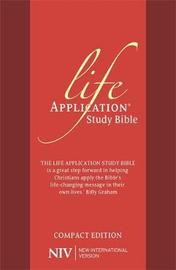 NIV Compact Life Application Study Bible (Anglicised) by New International Version