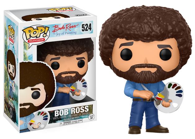 The Joy of Painting - Bob Ross Pop! Vinyl Figure
