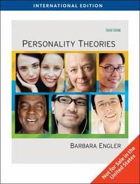 Personality Theories, International Edition by Barbara Engler image