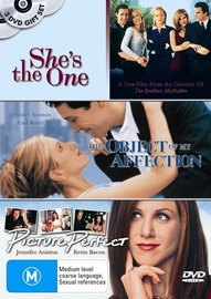 Object Of My Affection, The / Picture Perfect / She's The One (3 Disc Set) on DVD image