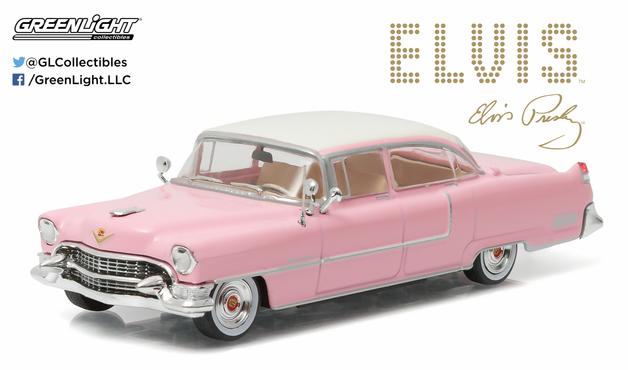 "1/43: Cadillac Fleetwood Series 60 - ""Pink Cadillac"" - Diecast Model"