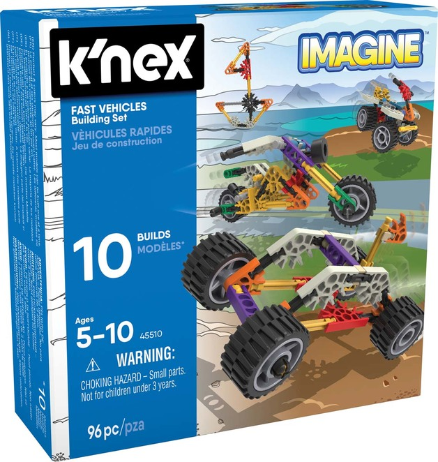 K'Nex: Fast Vehicles - Building Set (96pc)
