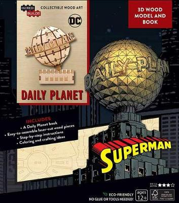 Incredibuilds DC Comics: Superman: Daily Planet 3D Wood Model and Book