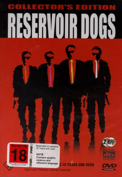 Reservoir Dogs on DVD image