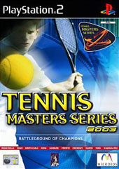 Tennis Masters Series 2003 for PS2
