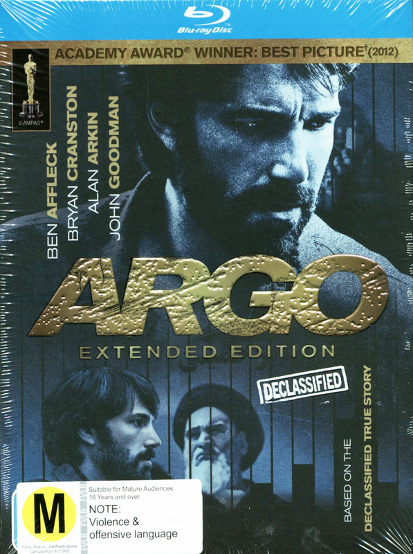 Argo - Extended Edition on Blu-ray
