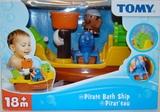 Tomy: Pirate Bath Ship - Bath Toy