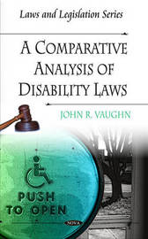 Comparative Analysis of Disability Laws by John R. Vaughn image