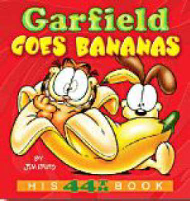 Garfield Goes Bananas by Jim Davis image