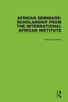 African Seminars