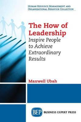 The How of Leadership by Maxwell Ubah image