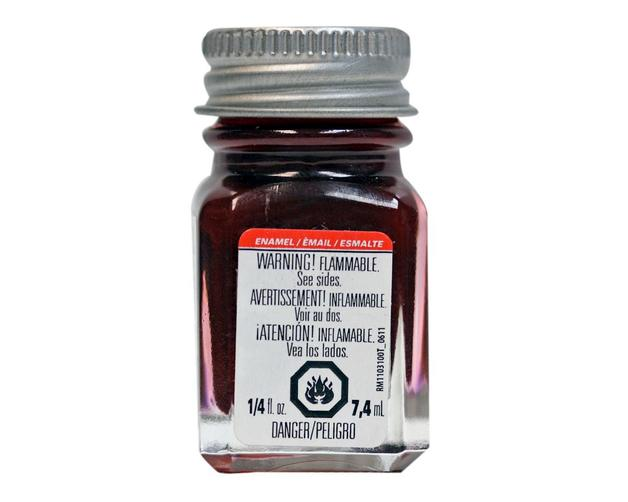 Testors: Metallic Enamel Paint - Metal Flake Red