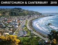 Christchurch & Canterbury 2019 Horizontal Wall Calendar
