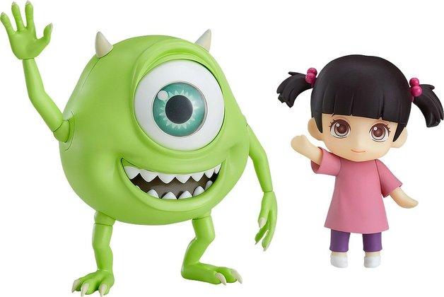 Monsters, Inc. Mike & Boo - Nendoroid Figure