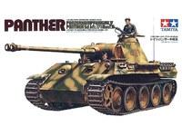 Tamiya German Panther Ausf A Medium Tank 1:35 Model Kit