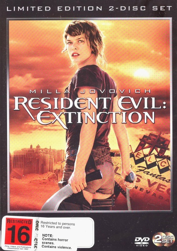 Resident Evil - Extinction (2 Disc Set) on DVD