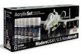Italeri Acrylic Paint Set: Modern USAF/US Navy Aircraft