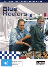 Blue Heelers - Season 4 Part 1 (6 Disc) on DVD