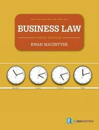 Business Law by Ewan MacIntyre image