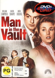 Man In The Vault on DVD image