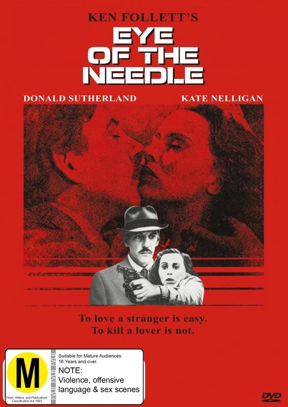 Ken Follett's Eye Of The Needle on DVD