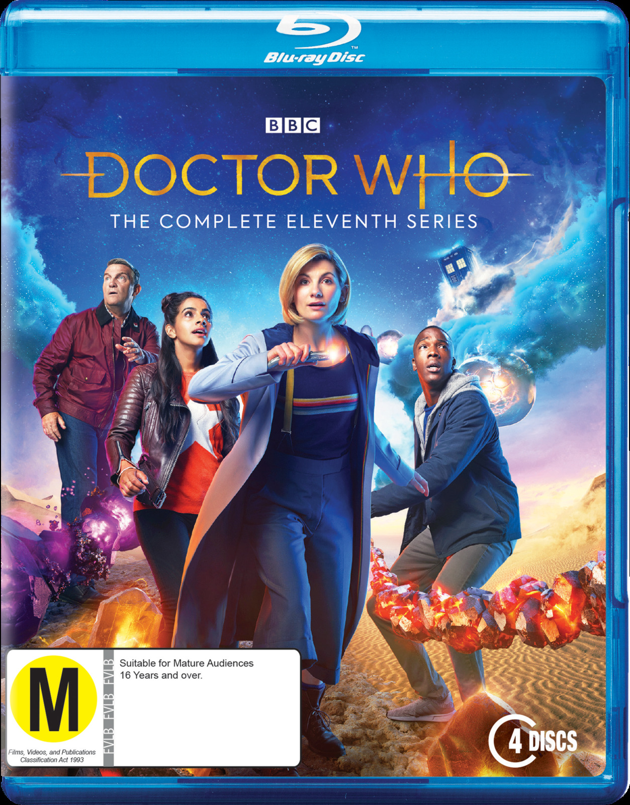 Doctor Who: The Complete Eleventh Season on Blu-ray image