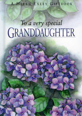 To a Very Special Granddaughter by Pam Brown