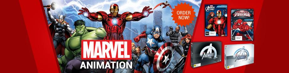 Avengers/Marvel banner