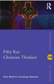 Fifty Key Christian Thinkers by Peter McEnhill image