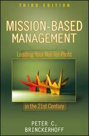 Mission-based Management by Peter C Brinckerhoff