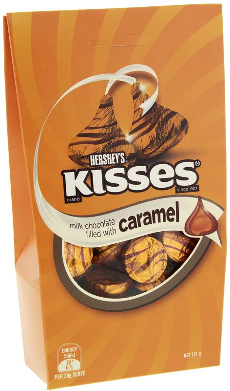 Hershey's Caramel Kisses 121g
