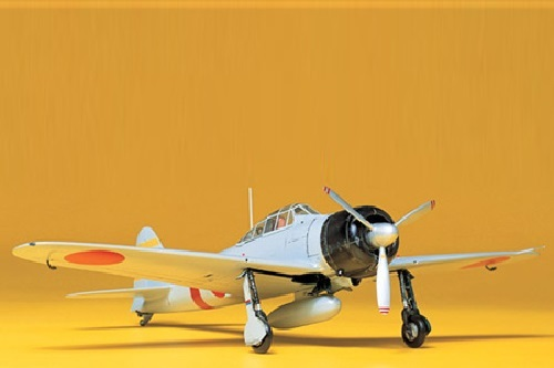 Tamiya 1/48 A6M2 Type 21 Zero Fighter - Model Kit image