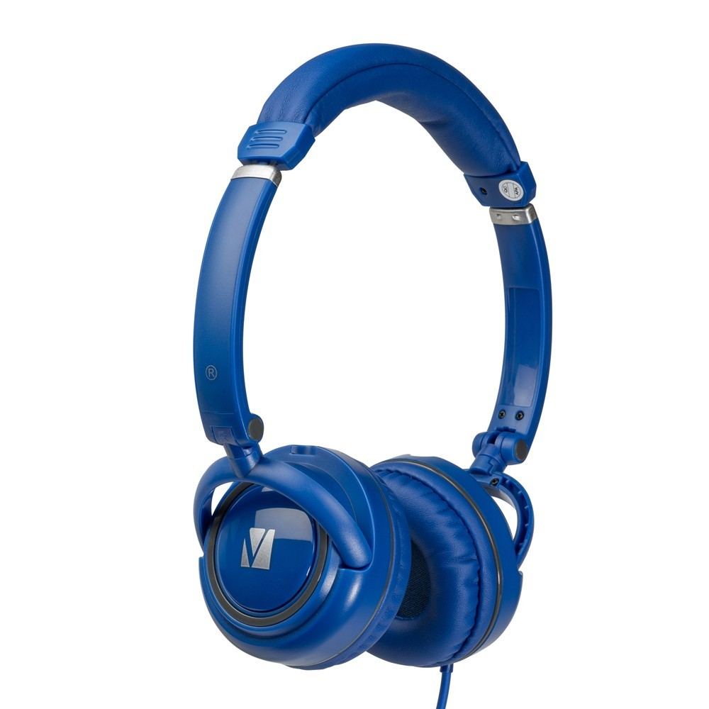 Verbatim TDK ST100 On-Ear Street Audio Headphones (Blue) image