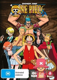 One Piece: Voyage - Collection 7 (Eps 300-348) on DVD