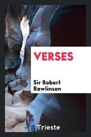 Verses by Sir Robert Rawlinson