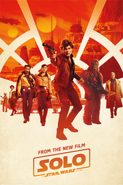 Star Wars Solo Maxi Poster - Millenium Teaser (816)