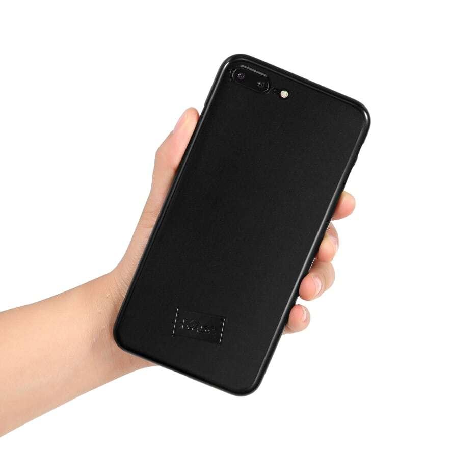 Kase Go Original iPhone 8 Plus Slim Case- Black Magic image