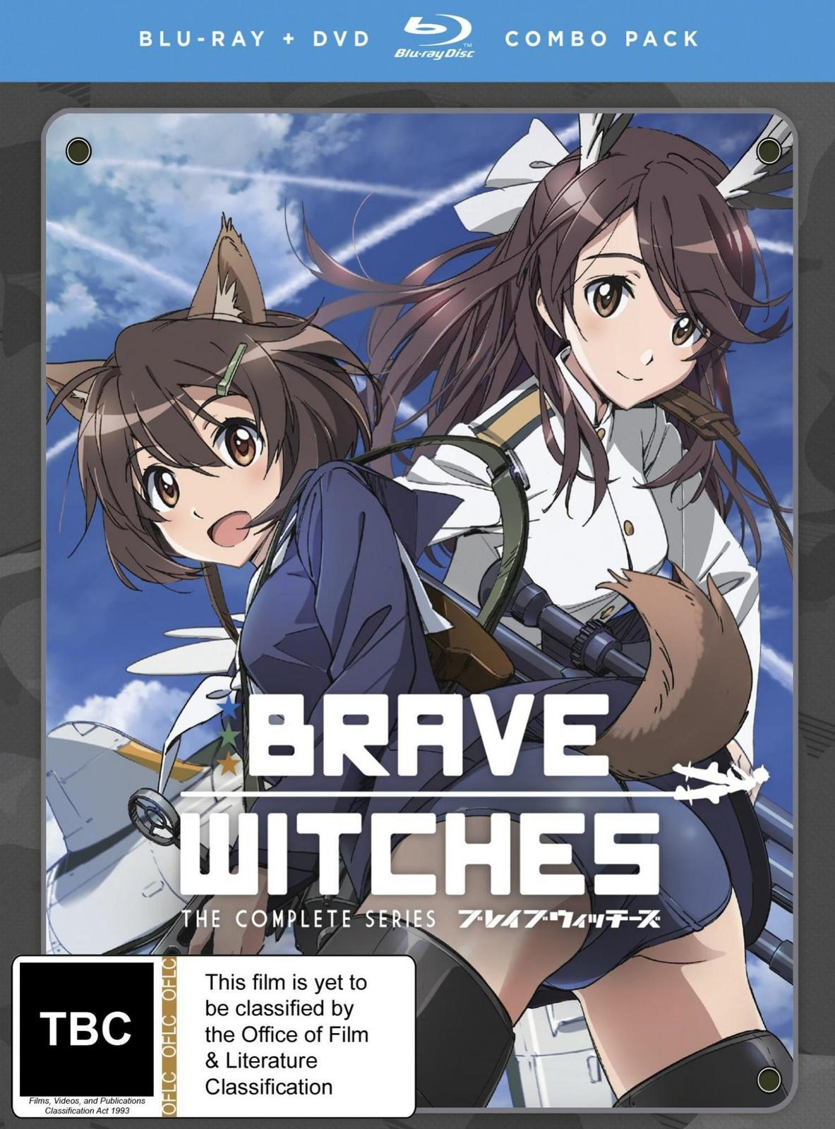 Brave Witches Complete Series on DVD, Blu-ray image