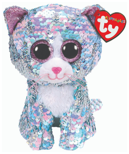 Ty Flippables: Whimsy Cat - Small Plush