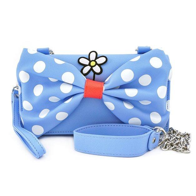 Loungefly: Mickey Mouse - Minnie Polka Dot Crossbody Wristlet